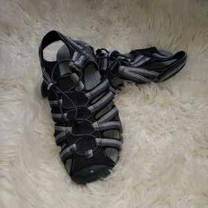 🐷3 / $20-Croft & Barrow sporty sandals blue
